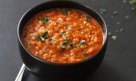 Элементарный рецепт индийского чечевичного супа