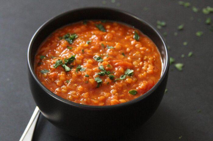 Рецепт вкуснейшего индийского супа с красной чечевицей