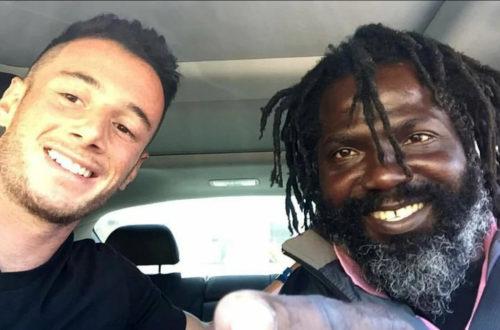 Парень помог бездомному вернуться к нормальной жизни