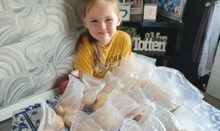 Девочка с аутизмом каждый день выпекает 300 печенюшек для пожилых соседей, оказавшихся на карантине