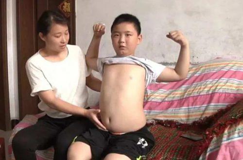 В Китае 11-летний мальчик осознанно растолстел, чтобы спасти своего отца