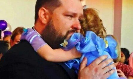 Узнав, что это последний день рождения 5-летней дочери, родители устроили сказочный праздник