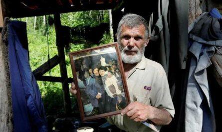 Бывший капитан судна более 15 лет живет отшельником в тайге
