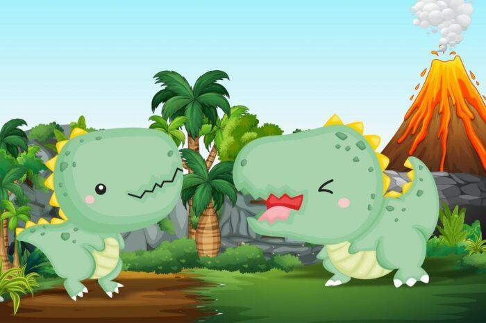 """Добрая и забавная история: """"Украденные игрушечные динозаврики"""""""