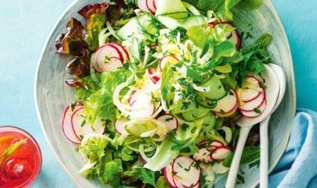 Простой рецепт вкусного летнего салата